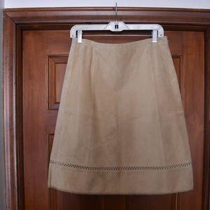 Loft Suede Skirt